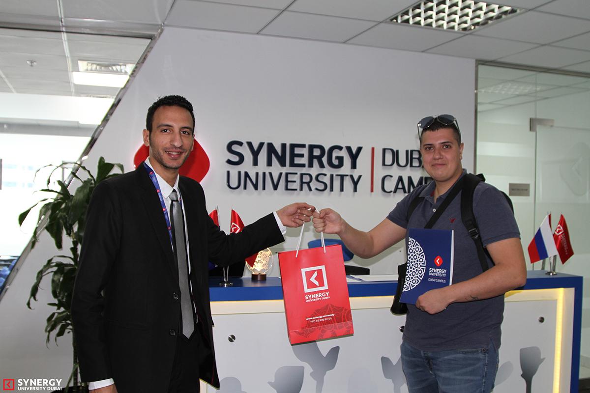 Synergy University Dubai | Main Page